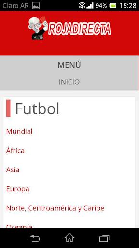 Roja Directa Futbol  Screenshots 2