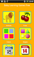 Baby Learning Games