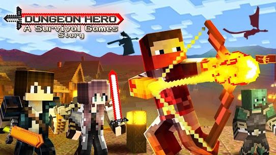 Dungeon Hero Mod Apk: A Survival Games Story (God Mode/Dumb Enemy) 1