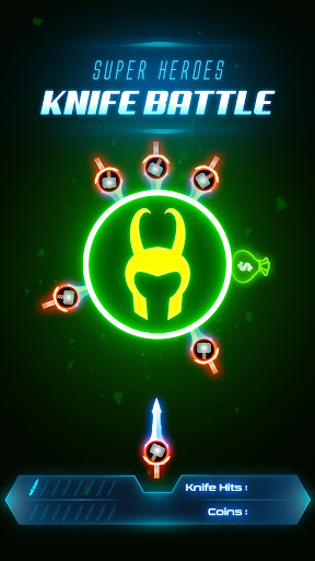 Super Hero Knife Battle_Free App  screenshots 4