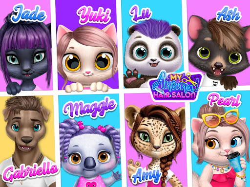 My Animal Hair Salon - Style, Create & Experiment 5.1.7 screenshots 22