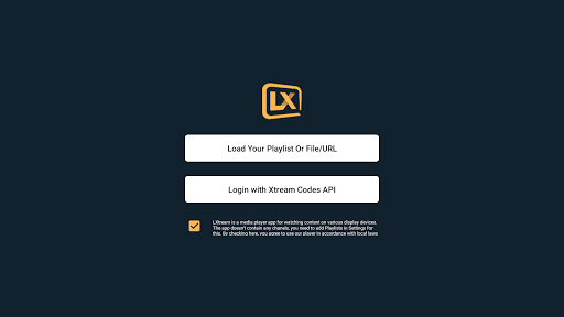 Lxtream Player 1.2.6 Screenshots 11