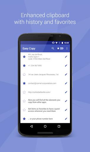 easy copy -the smart clipboard screenshot 1