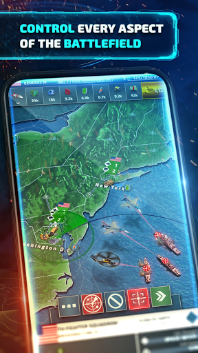 Conflict of Nations: WW3 Long Term Strategy Game 0.90 screenshots 1