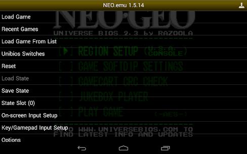 NEO.emu Mod Apk 1.5.51 (Mod/Paid) 5