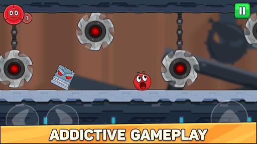Bounce Ball 6: Red Bounce Ball Hero  screenshots 6