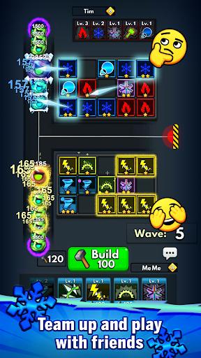 Merge Clash: TD Tower Defense Games  screenshots 2