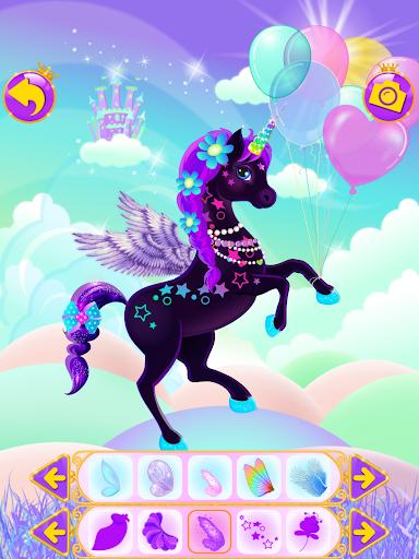 Unicorn Dress Up - Girls Games apkslow screenshots 7