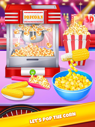 Crazy Movie Night Food Party - Make Popcorn & Soda 1.4 screenshots 1
