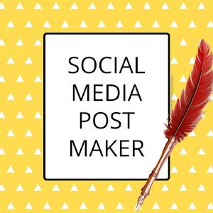 Social Media Post Maker Planner Graphic Design 35.0 by Apps You Love logo