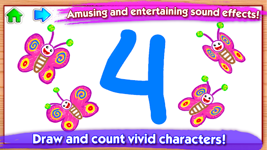 123 Draw🎨 Toddler counting for kids Drawing games 5