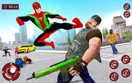 Superhero Light Robot Rescue: Speed Hero Games  Screenshots 9