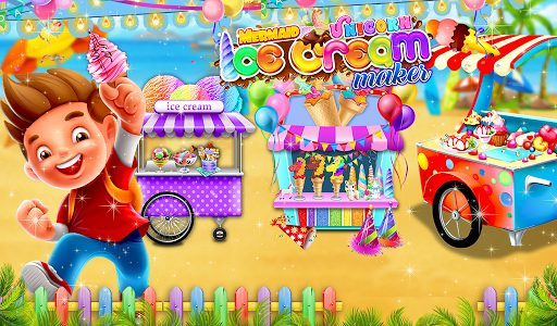 Ice Cream - Frozen Desserts Rainbow Unicorn  screenshots 8