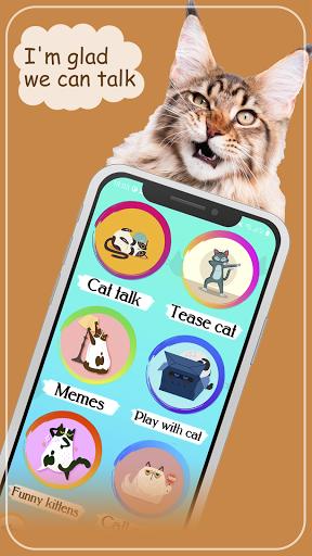 Cat translator. Cat sounds. Meow joke 3.6 screenshots 3