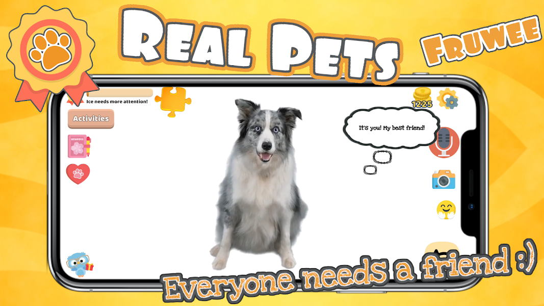 Real Pets™ by Fruwee