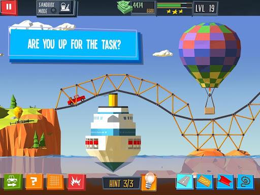 Build a Bridge! apktram screenshots 14