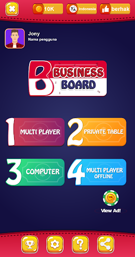 Business Board: Indonesia 1.0 screenshots 1