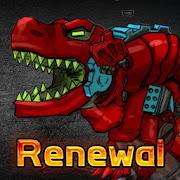 T-Rex Red - Combine! Dino Robot : Dinosaur games