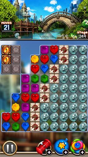 Jewel Royal Garden: Match 3 gem blast puzzle 1.0.1 screenshots 6