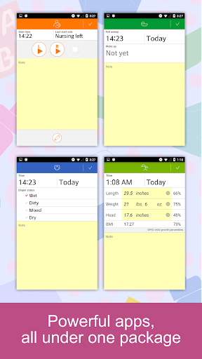 Baby Tracker - Newborn Feeding, Diaper, Sleep Log 2.12 Screenshots 3