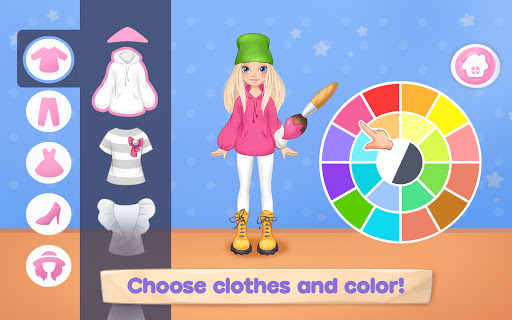 Fashion Dress up games for girls. Sewing clothes  screenshots 13