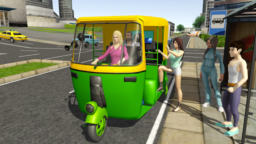 Tuk Tuk Rickshaw City Driving Simulator 2020  screenshots 6