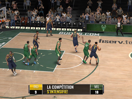 Code Triche NBA LIVE Mobile Basket-ball (Astuce) APK MOD screenshots 4
