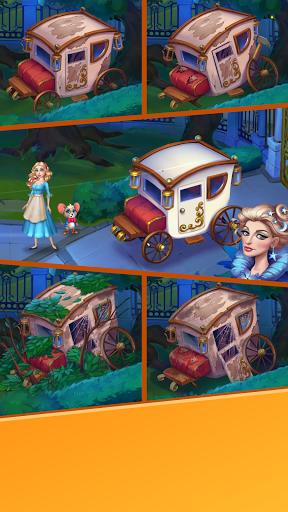 Cinderella - Magic adventure of princess & puzzles screenshots 1