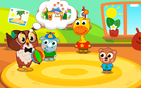 Amusement park for kids! APK + MOD (Unlimited Money) 4