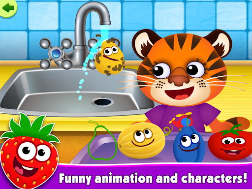 FunnyFood Kindergarten learning games for toddlers 2.4.1.19 Screenshots 10