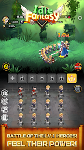 Idle Fantasy Merge RPG: Legend of the Stars
