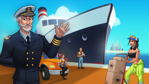 Transit King Tycoon - Seaport and Trucks screenshots 9
