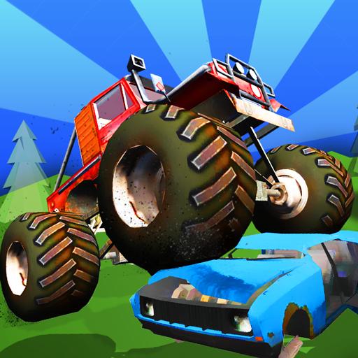 Baby Monster Truck Hot Racing