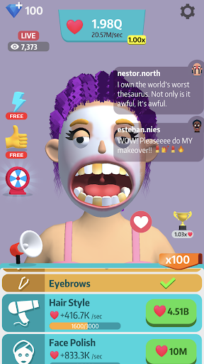 Idle Makeover 0.7.3 screenshots 3