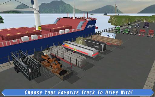 Cargo Truck Driver: American Transport  screenshots 7
