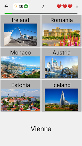 Capitals of All Countries in the World: City Quiz 3.1.0 screenshots 4