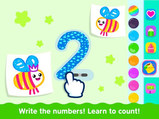 Bini Toddler Drawing Apps! Coloring Games for Kids apktram screenshots 13