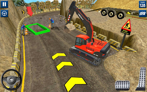 Heavy Excavator Simulator 2020: 3D Excavator Games modavailable screenshots 12