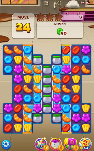 Sweet Road: Cookie Rescue Free Match 3 Puzzle Game 6.8.0 screenshots 3