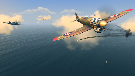 Warplanes: WW2 Dogfight MOD APK (Premium Unlocked) Download 4