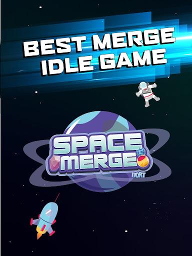 Space Merge: Galactic Idle Game screenshots 12