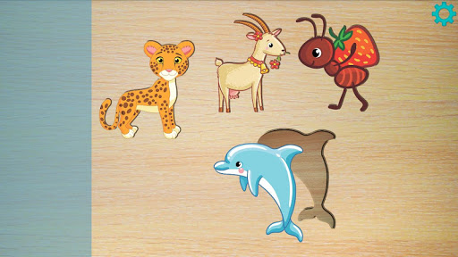Baby Puzzles Animals for Kids  screenshots 1