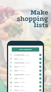 Create Recipes and Shopping Lists - Plant Jammer