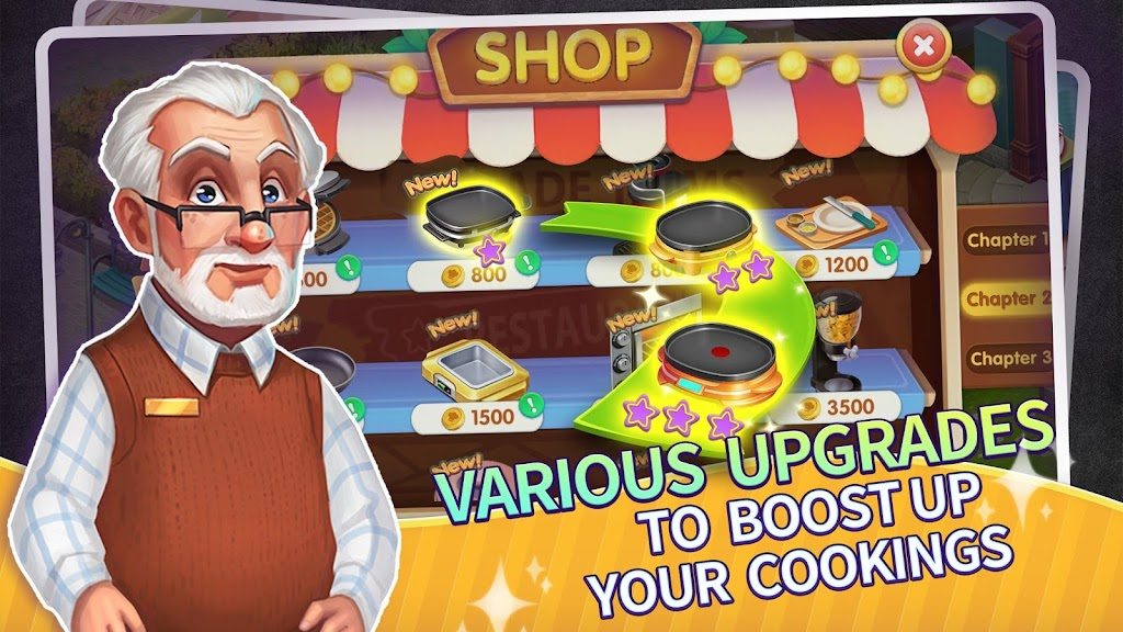 My Restaurant Empire - 3D Decorating Cooking Game  poster 3