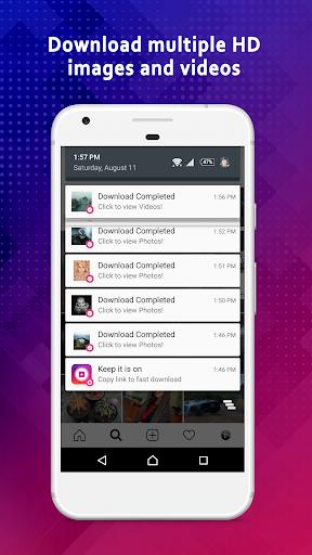 Video Downloader for Instagram & IGTV modavailable screenshots 8