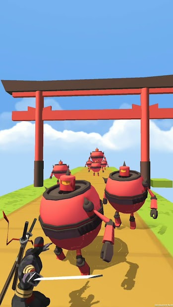 Action Ninja 3D screenshot 1