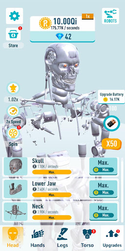 Idle Robots apktreat screenshots 1