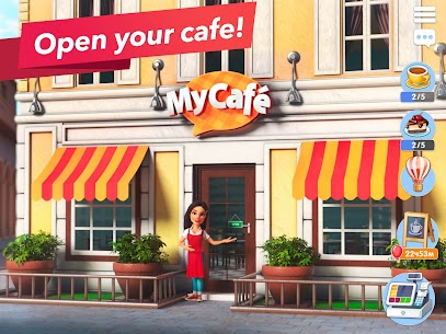 Download My Cafe Recipes & Stories Mod Apk [Unlimited Money/Coins] 1