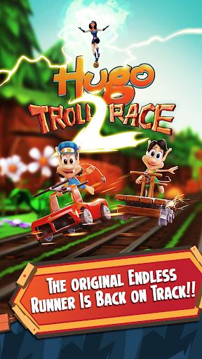 Hugo Troll Race 2: The Daring Rail Rush apktreat screenshots 1