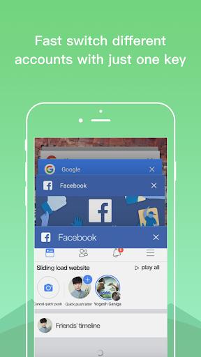 Dual Space Lite - Multiple Accounts & Clone App